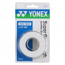 Yonex Super Grap Tough 0.65mm Overgrip 3er weiss
