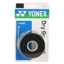 Yonex Dry Grap 0.65mm Overgrip 3er schwarz