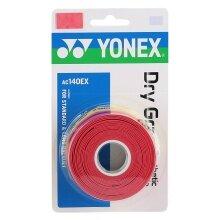 Yonex Overgrip Dry Grap 0.65mm rot 3er