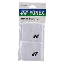 Yonex Schweissband Handgelenk weiss 2er