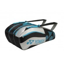 Yonex Racketbag Tournament Active 2016 schwarz/silber 9er
