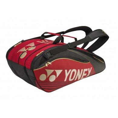 Yonex Racketbag Pro 2016 rot 9er
