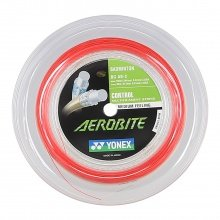 Yonex Aerobite Hybrid 0.61/0.67 weiss/rot 200 Meter Rolle