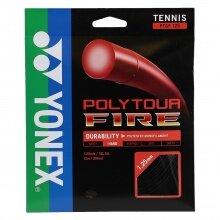 Yonex Poly Tour Fire schwarz Tennissaite