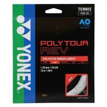 Yonex Poly Tour Rev (Polyester/achteckig) weiss Tennissaite 12m Set