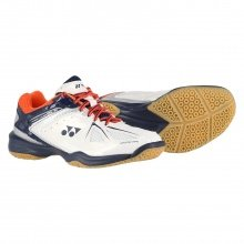 Yonex SHB 35 weiss/orange Badmintonschuhe Kinder