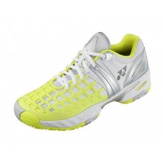 Yonex SHT Pro Allcourt 2014 weiss/gelb Tennisschuhe Damen (Größe 41)