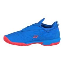 Yonex Power Cushion Fushionrev 3 blau/rot Allcourt-Tennisschuhe Herren
