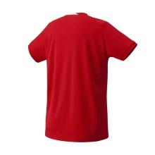Yonex Tshirt Team 2017 rot Herren
