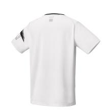 Yonex Tshirt Badminton Tournament 2020 weiss Herren