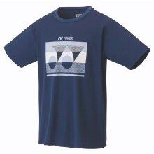 Yonex Tshirt Logo 2019 indigoblau Herren