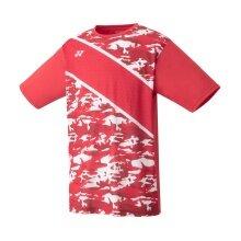 Yonex Tshirt Practice Graphic 2020 rot Herren