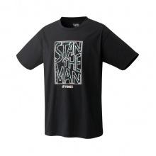 Yonex Trainings-Tshirt Stan the Man 2021 (Baumwolle) schwarz Herren