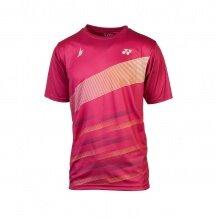 Yonex Tshirt Practice Graphic 2021 bordeauxrot Herren