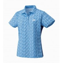 Yonex Polo Team Graphic 2017 blau Damen