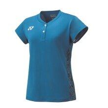 Yonex Shirt Premium Graphic 2018 blau Damen