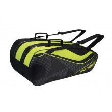 Yonex Racketbag Tournament Active 2017 schwarz/gelb 9er