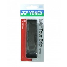Yonex Synthetic Leather Tour Grip 1.5mm Basisband schwarz