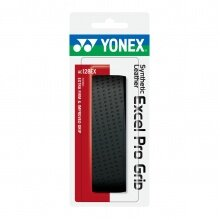 Yonex Synthetic Leather Excel Pro Grip 1.6mm Basisband schwarz