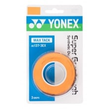 Yonex Super Grap Tough 0.65mm Overgrip 3er orange