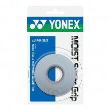 Yonex Overgrip Moist Super Grip 0.65mm weiss 3er