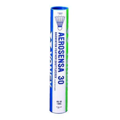 Yonex AS 30 (Aerosensa) Naturfederbälle 12er
