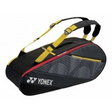 Yonex Racketbag Tournament Active 2020 schwarz/gelb 6er