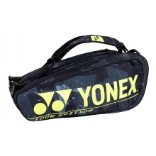 Yonex Racketbag (Schlägertasche) Pro Racquet 2021 schwarz/gelb - 9er