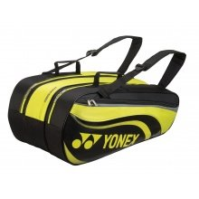 Yonex Racketbag Tournament Active 2018 gelb/schwarz 9er