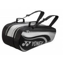 Yonex Racketbag Tournament Active 2018 grau/schwarz 9er
