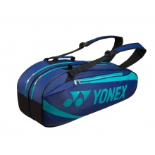 Yonex Racketbag Tournament Active 2019 navy/aqua 6er