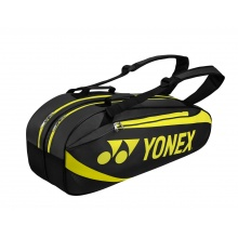 Yonex Racketbag Tournament Active 2019 schwarz/lime 6er