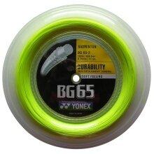 Yonex BG 65 0.70 gelb 200 Meter Rolle
