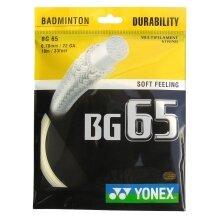 Yonex BG 65 0.70 natur Badmintonsaite