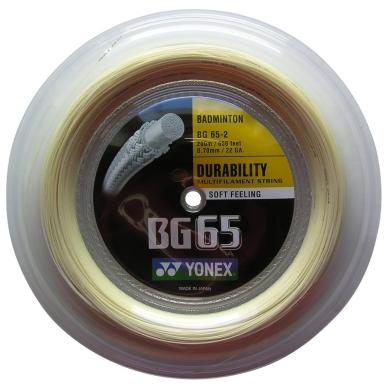 Yonex BG 65 0.70 natur 200 Meter Rolle