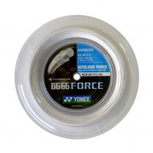 Yonex BG 66 FORCE weiss 200 Meter Rolle