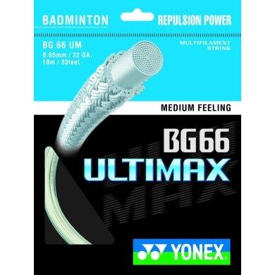Besaitung mit Yonex BG 66 Ultimax