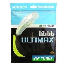 Yonex BG 66 Ultimax gelb Badmintonsaite
