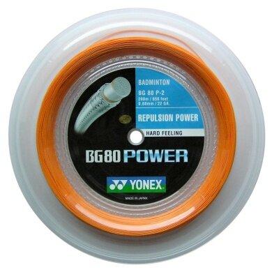 Yonex BG 80 Power orange 200 Meter Rolle