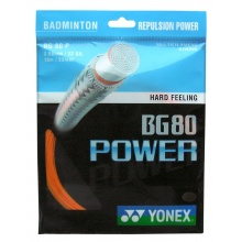 Yonex BG 80 Power orange Badmintonsaite