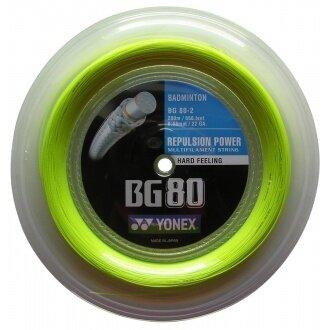 Yonex BG 80 gelb 200 Meter Rolle