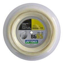 Yonex BG 65 0.70 natur 500 Meter Rolle
