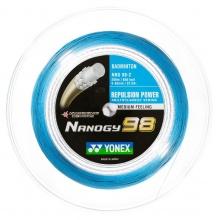Yonex Badmintonsaite Nanogy 98 (Power+Touch) blau 200m Rolle