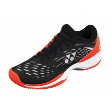 Yonex Fushionrev 2 Clay 2018 schwarz/orange Tennisschuhe Herren
