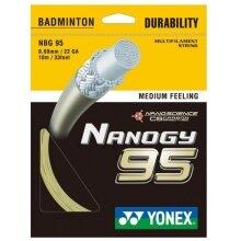 Besaitung mit Yonex Nanogy 95