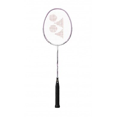 Yonex Nanoray 10 F 2016 weiss/pink Badmintonschläger - besaitet -