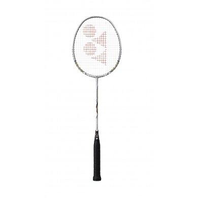 Yonex Nanoray 10 F 2016 silber Badmintonschläger - besaitet -