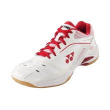 Yonex SHB Power Cushion 65 Z 2020 weiss/rot Badmintonschuhe Damen