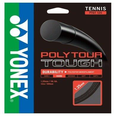 Yonex Poly Tour Tough schwarz 200 Meter Rolle