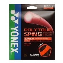 Yonex Poly Tour Spin G orange Tennissaite